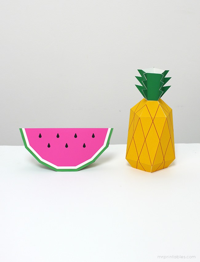 25 Pineapple Crafts Amp Free Printables Diy Goodness