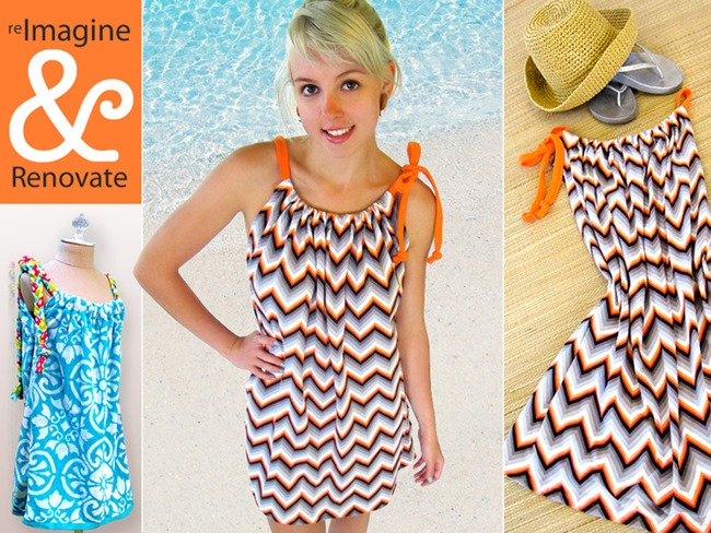 bathing suit cover up diy