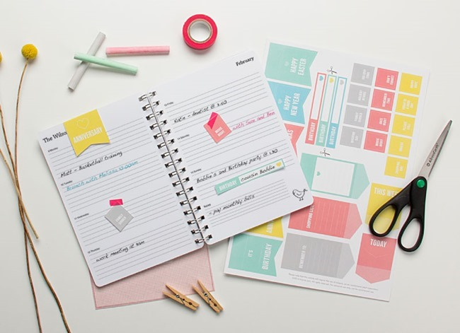 free planner printables - stickers