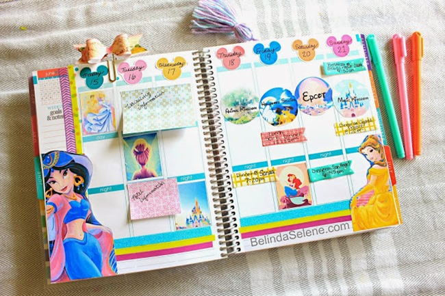 free printable planner stickers -disney