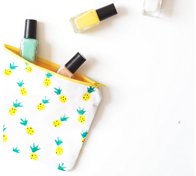 pineapple pouch sewing pattern