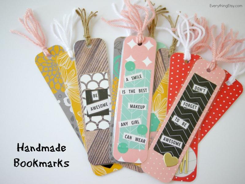 Handmade Bookmarks - DIY