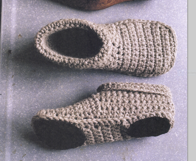 Crochet boot slipper pattern - free