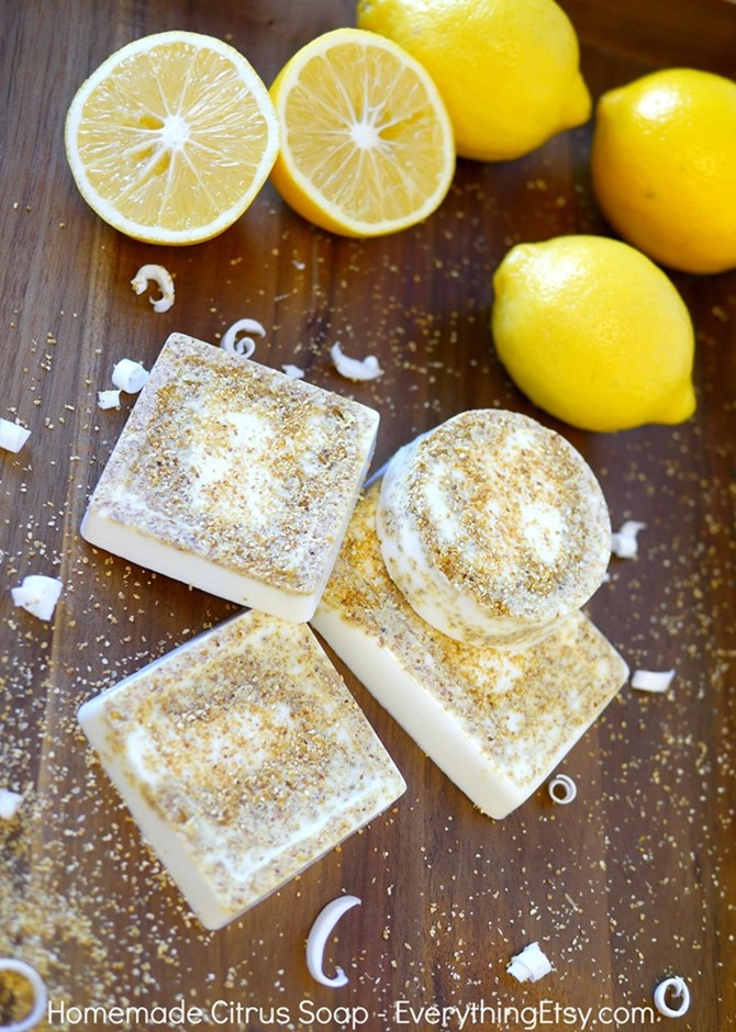 DIY Citrus Soap