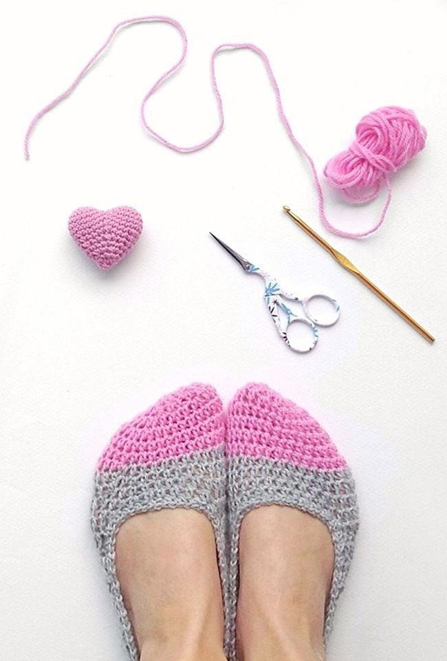 Free Crochet Slipper Pattern - Easy