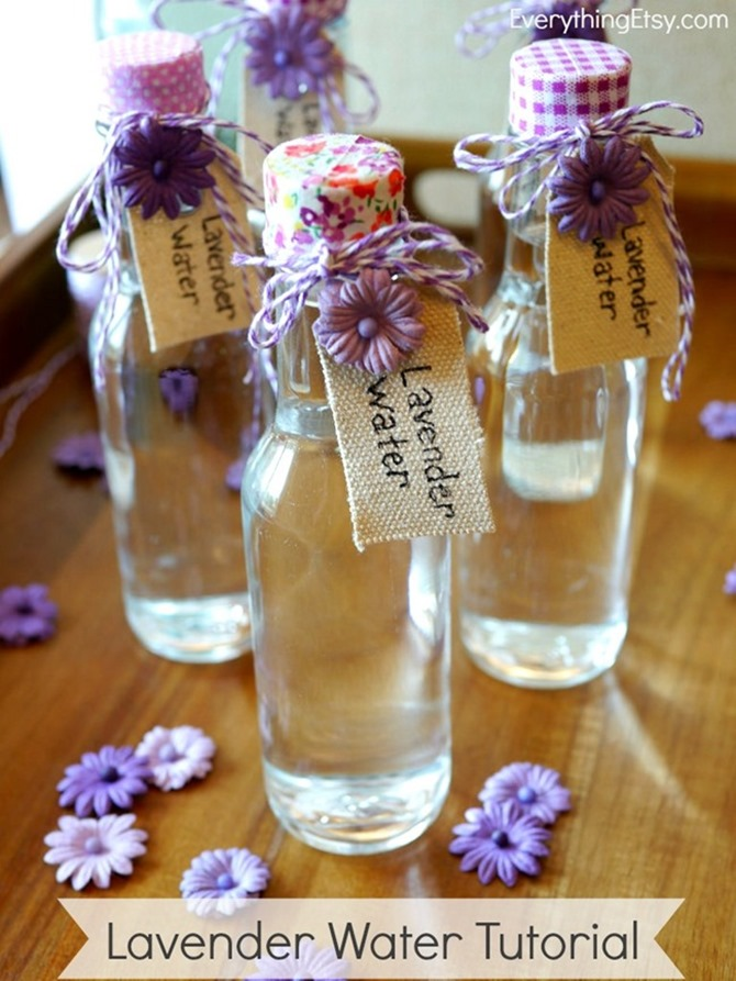 Lavender Water using essential oils