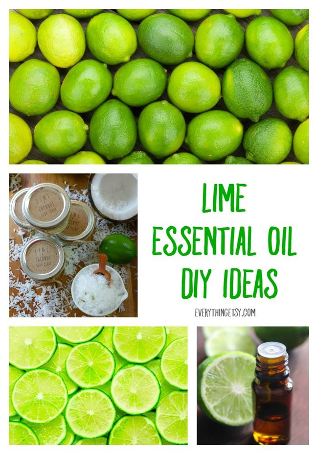 Lime Essential Oil DIY Ideas - Learn More on EverythingEtsy.com