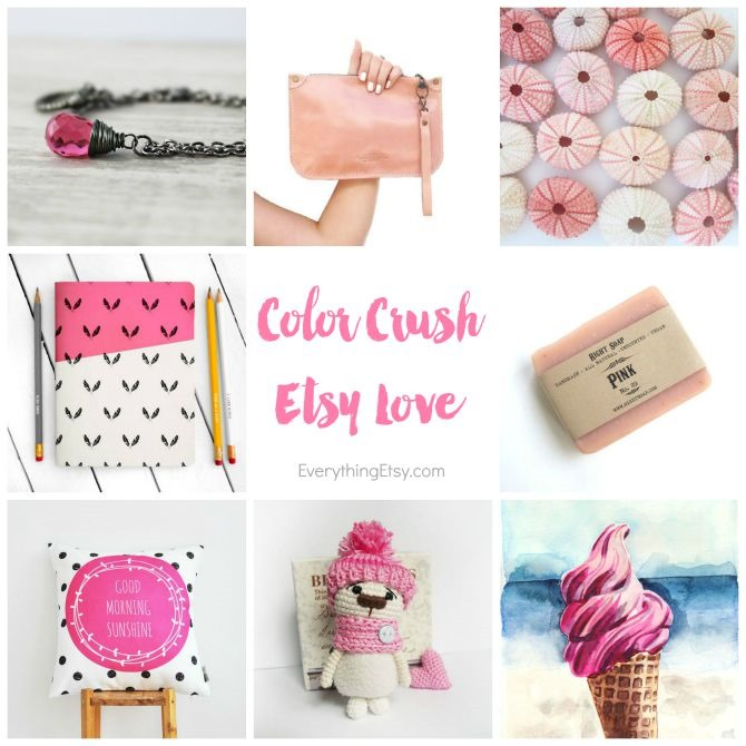 Pink Etsy Love on EverythingEtsy.com