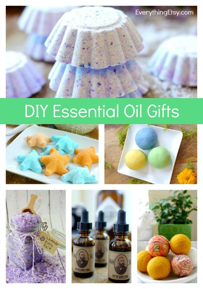 doTERRA Essential Oil DIY Gift Ideas - Tutorials on EverythingEtsy.com