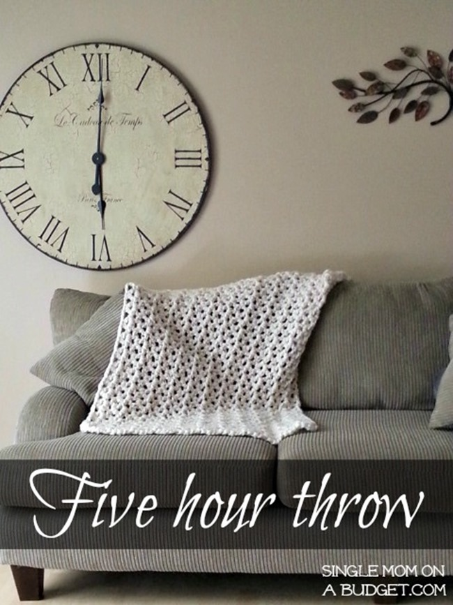 Free Crochet Throw Patterns - 5 hour