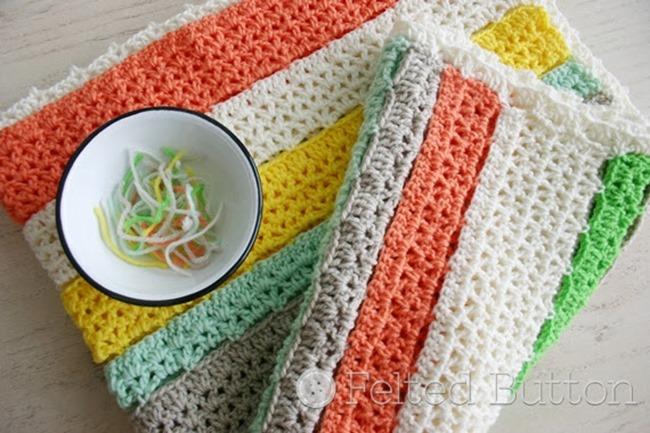 Free Crochet Throw Patterns - Citrus
