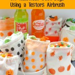 DIY Halloween Treat Bags Using a Testors® Aztek Airbrush