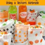 DIY Halloween Treat Bags Using a Testors® Aztek Airbrush