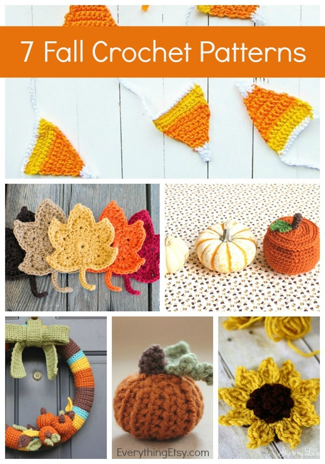 DIY Fall Crochet Patterns - 7 Free Designs on EverythingEtsy.com