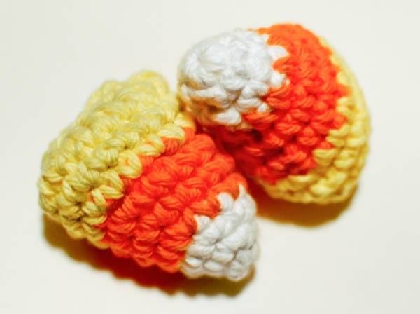 fall crochet patterns - candy corn