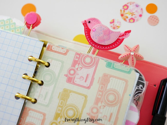 Diy Planner Paper Clips Pretty Planner Ideas Everythingetsy Com