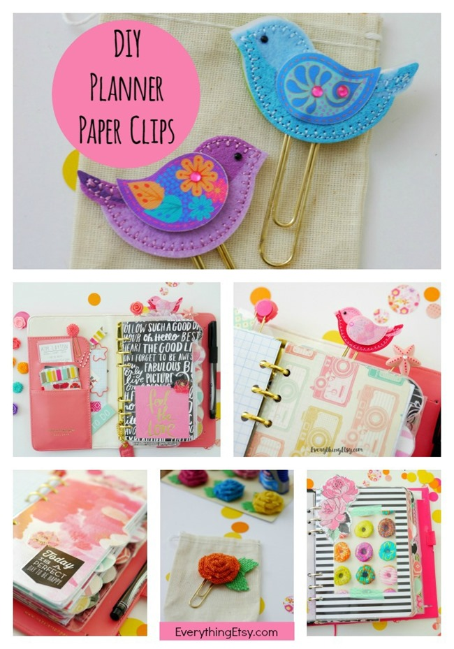 DIY Planner Paper Clips and Pretty Planner Ideas! - EverythingEtsy.com