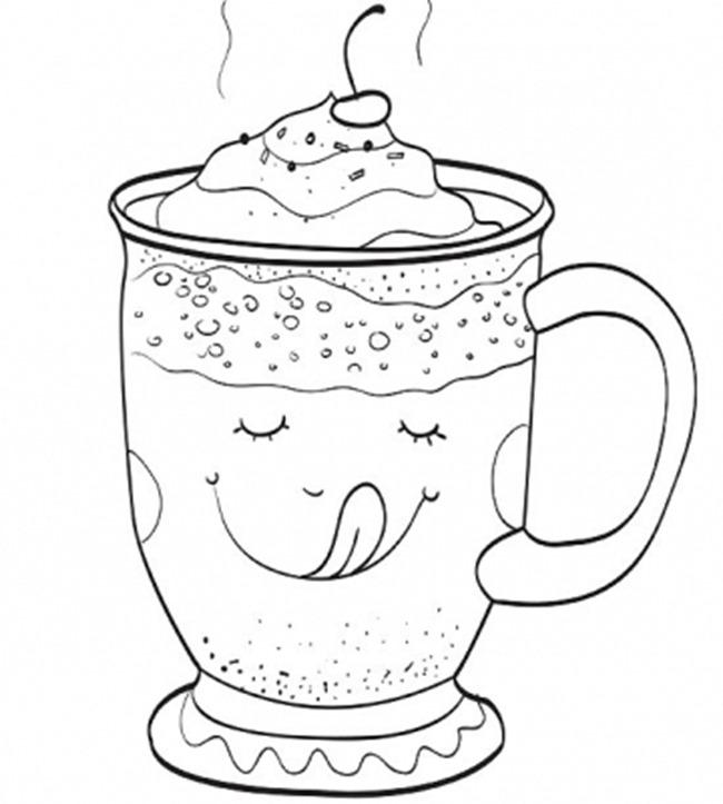 Christmas Printable - hot chocolate