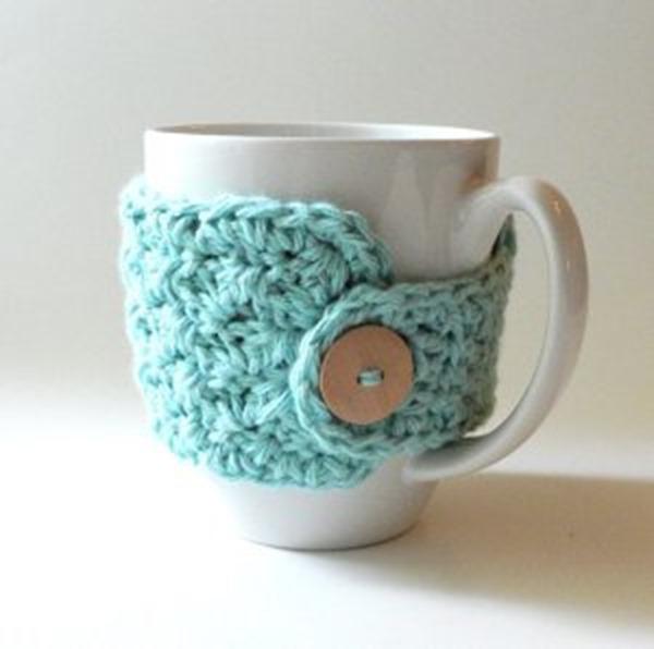 10 Free Crochet Patterns For A Coffee Cozyor Two Everythingetsycom