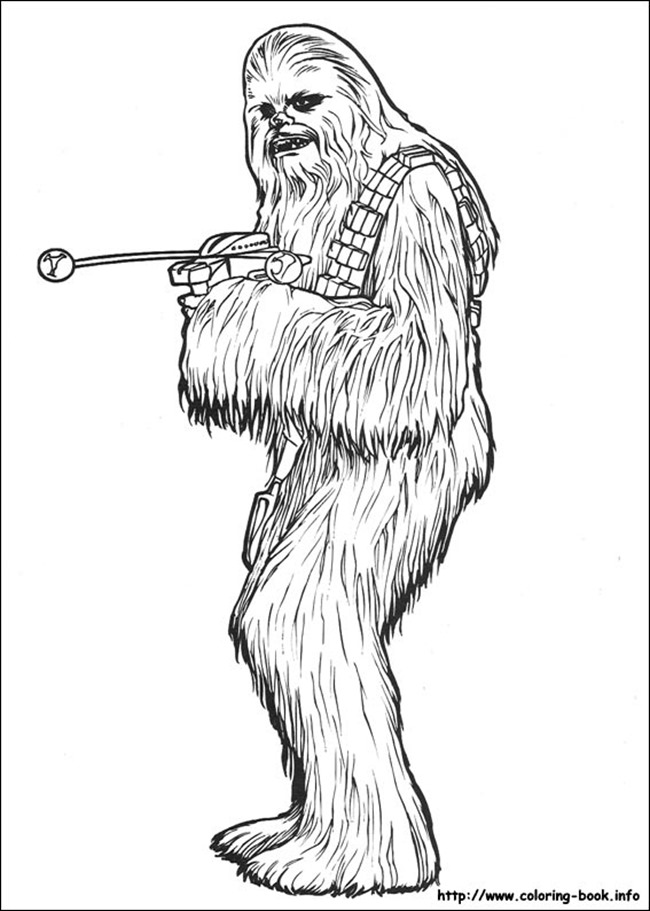 star wars coloring page chewy