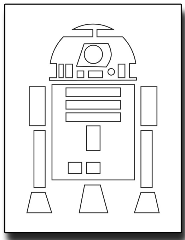 Star Wars Free Printable Coloring
