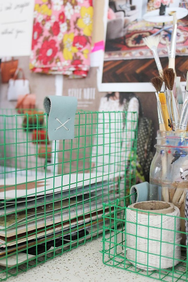 Diy Wire Baskets For Craft Room Storage Everythingetsy Com