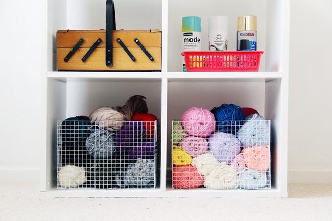DIY Wire Mesh Storage Basket