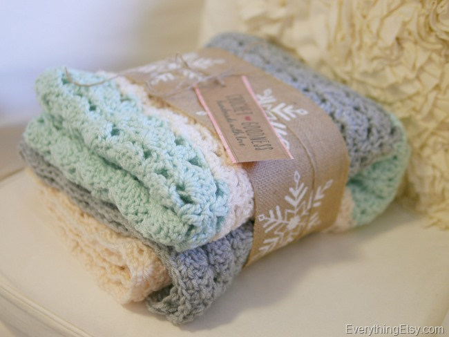 Easy Crochet Shell Stitch Blanket Pattern Everythingetsy