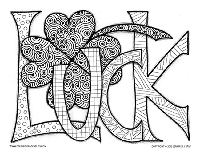 Superior St. Patricku0027s Day Coloring Pages   Lucky