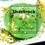 St. Patrick's Day DIY Shamrock Play Dough