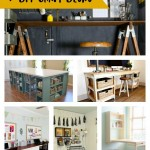 7 DIY Craft Desks