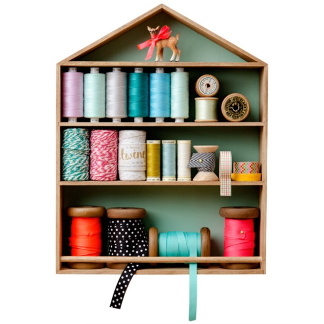 Craft Room Shelving Unit on Etsy