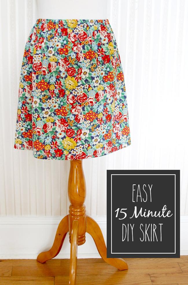 Spring sewing tutorials - flower skirt on FlamingoToes