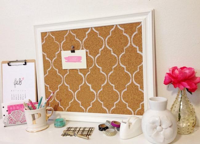craft room memo board on Etsy