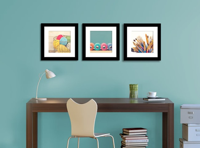 craft room print set on etsy - decorating