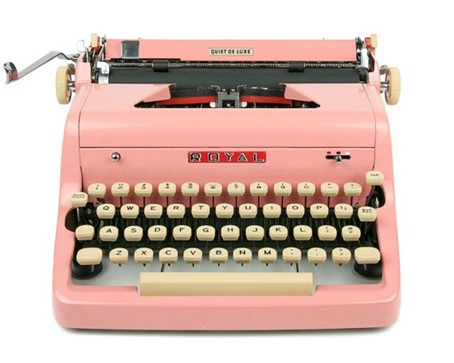 craft room vintage Royal typewriter on Etsy