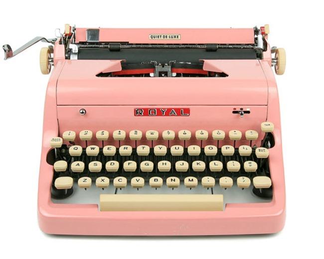 craft room vintage Royal typewriter on Etsy