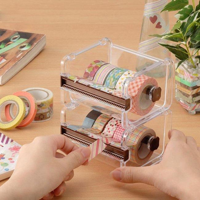 craft room washi tape organizer on Etsy
