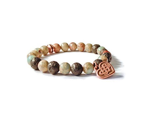 Mother's Day Gifts on Etsy - aromatherapy bracelet