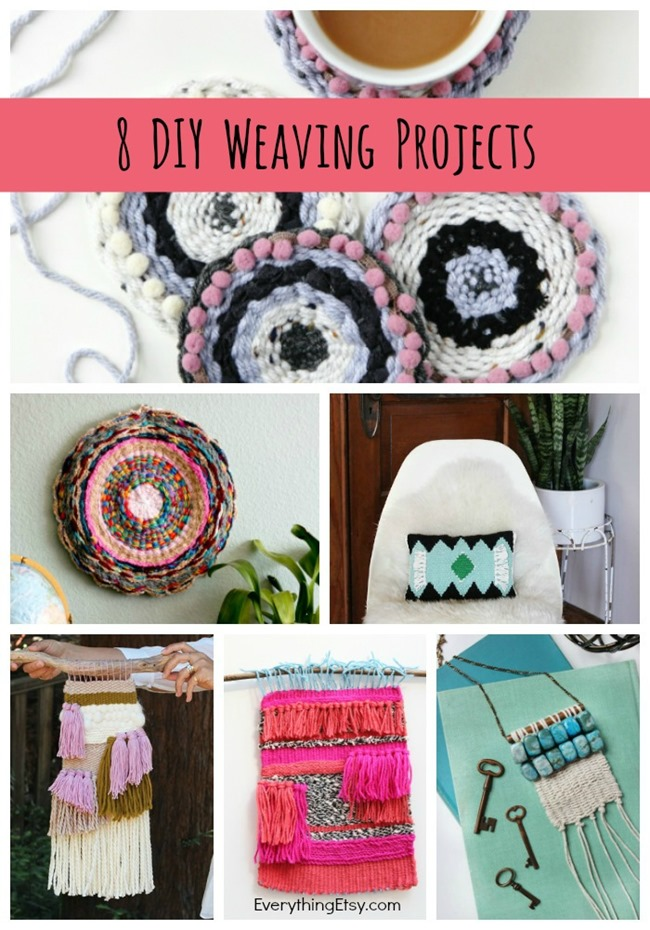 8 DIY Weaving Projects on EverythingEtsy.com
