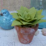 DIY Felt Succulents for Your Home