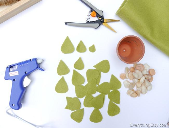 DIY Felt Succulent by Kim Layton 4