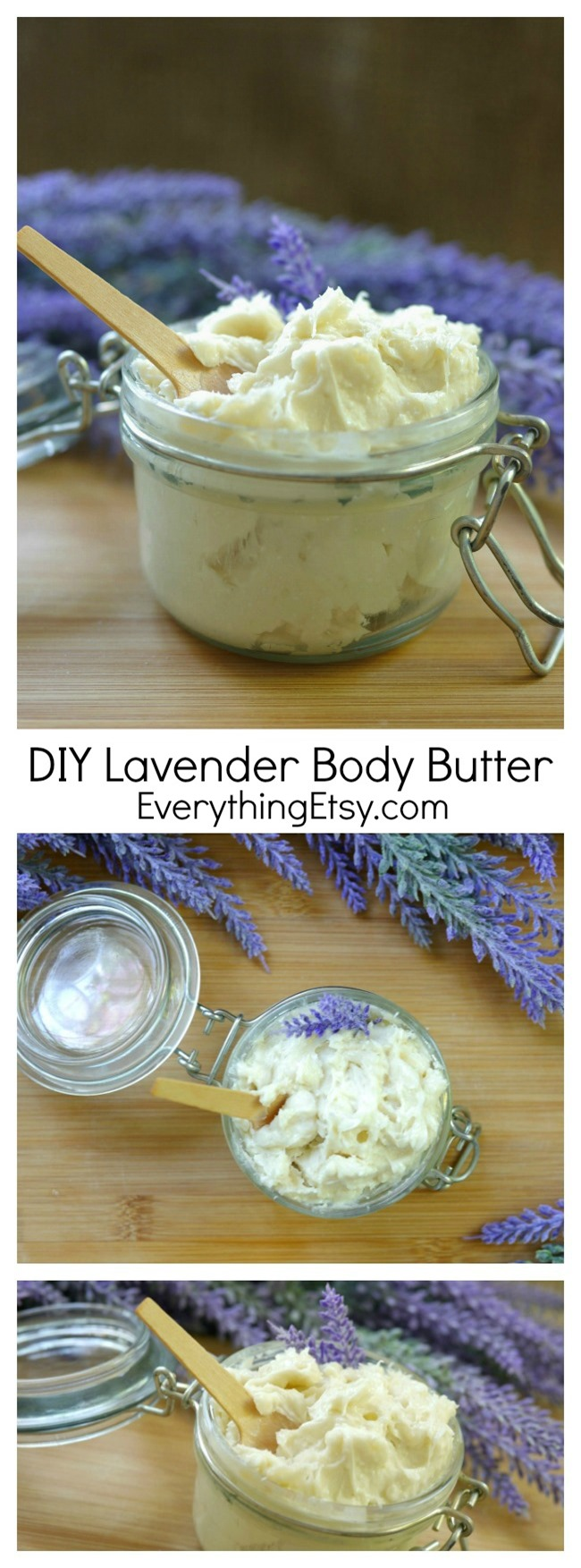 DIY Lavender Body Butter - Recipe on EverythingEtsy.com