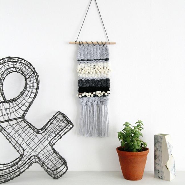 DIY Weaving Projects - Clipboard