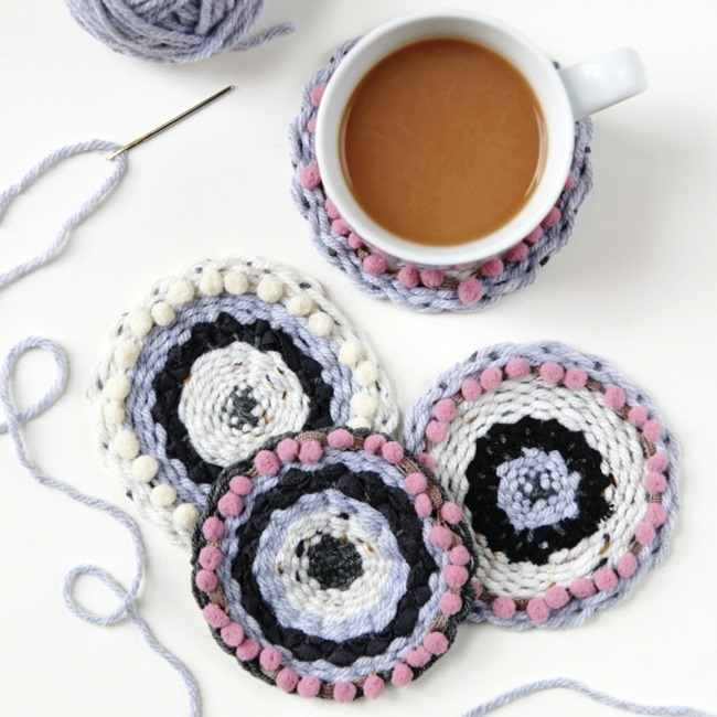 DIY Weaving Projects - Coasters