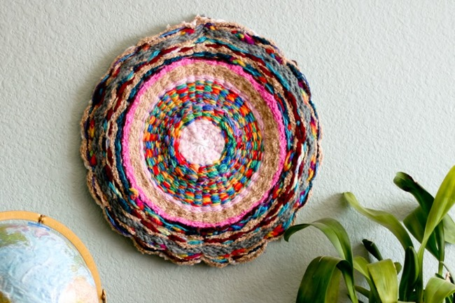 DIY Weaving Projects - Hula Hoop