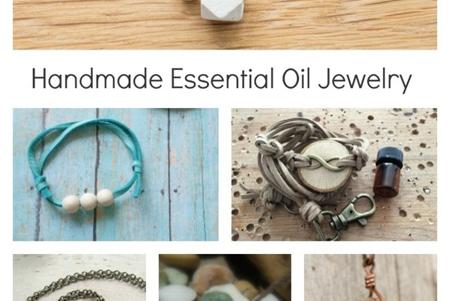 Handmade Essential Oil Jewelry