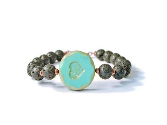 Essential oil Jewelry - Lava Stone Diffuser Bracelet