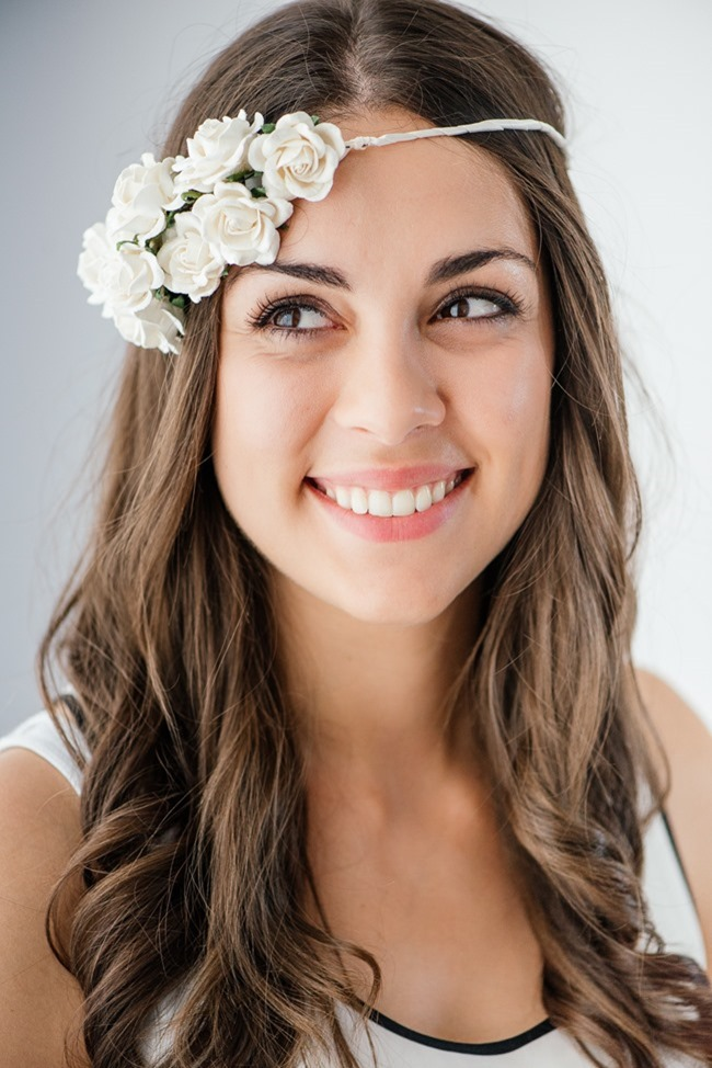 How to Make an Easy DIY Flower Headband for Your Wedding - The Pretty Blog