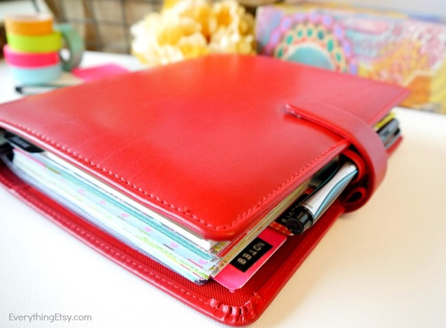 How to choose a planner that works for you - my Filofax - EverythingEtsy